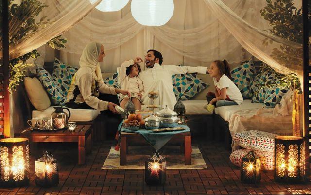 Family in Ramadan
