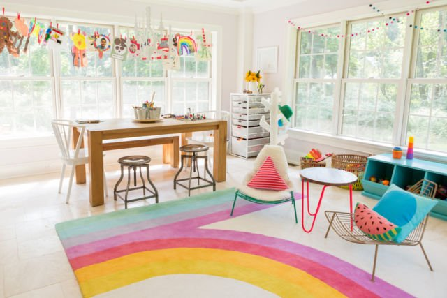 sunroom playroom
