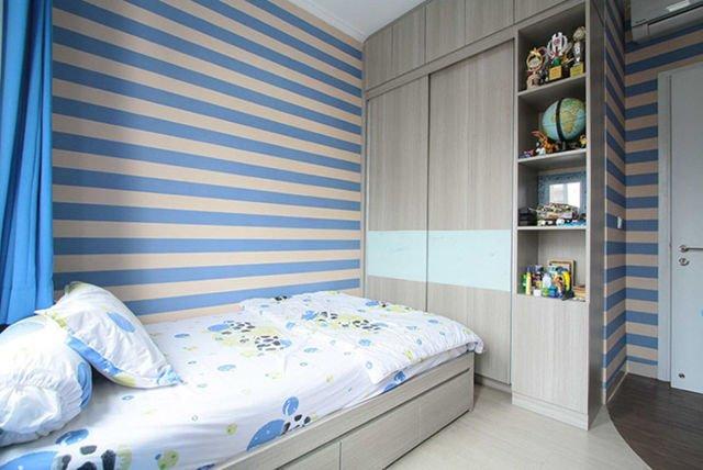 Kamar Tidur Grand Galaxy Residence di Bekasi karya Exxo Interior