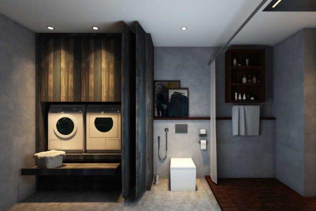 Ruang laundry Kemang Village Residence di Jakarta karya Juan Albert