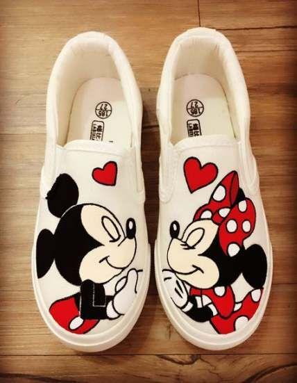 Canvas Shoes Art