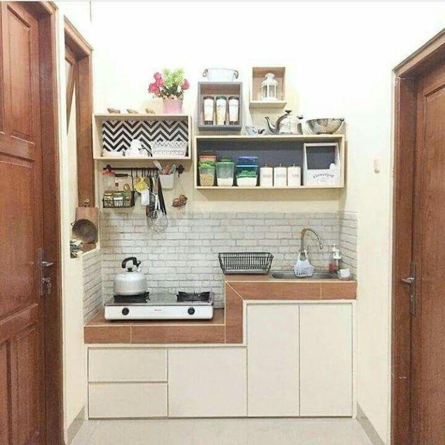 12 Desain Dapur Kecil yang Hemat Bujet dan Nggak Makan ...